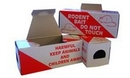 Cardboard Mouse Poison Bait Boxes - pack of 20